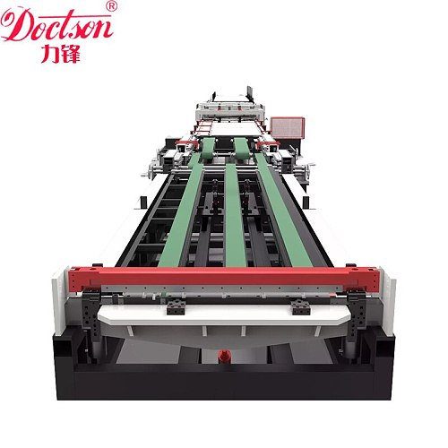 Cheap price rectangular duct production line machine, hvac auto air duct forming machine for sale