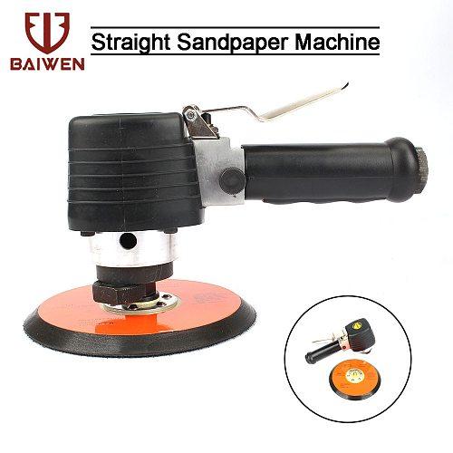 6  Air Sander Random Orbital Palm Sander Polisher Pneumatic Power Tool For Car Auto Body Work