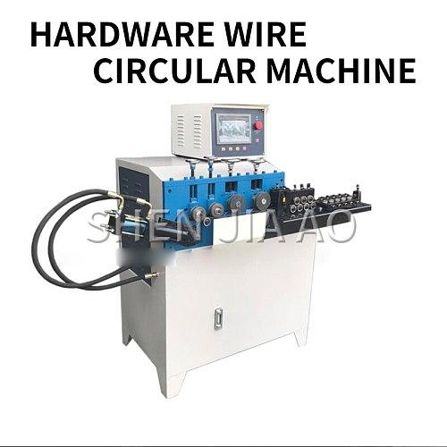 1PC Hydraulic 2-6 Circular Wire Winding Machine High-precision High-speed Open Circle Machine Hardware Wire Winding Machine