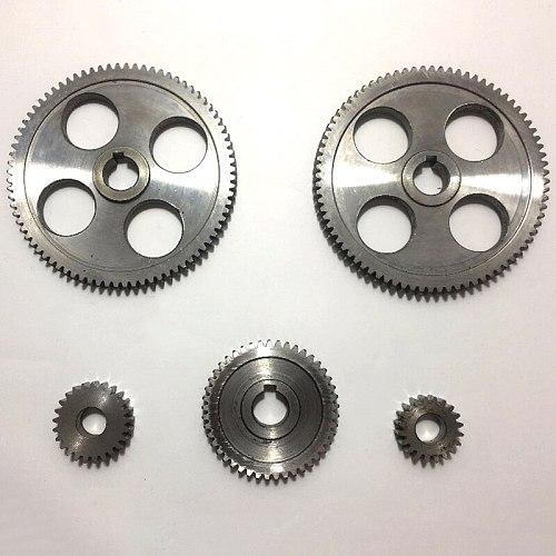 5Pcs/Set CJ0618 Machine Tool Gear Metal Gears Micro-Lathe Gear Metal Cutting Gear