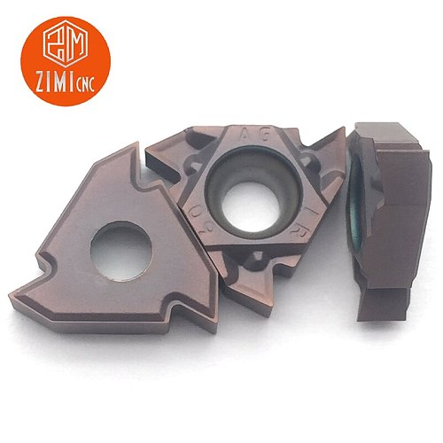 10 pieces 16IR AG60 1125 BP010 insert carbide insert for thread turning tool boring bar blade limited