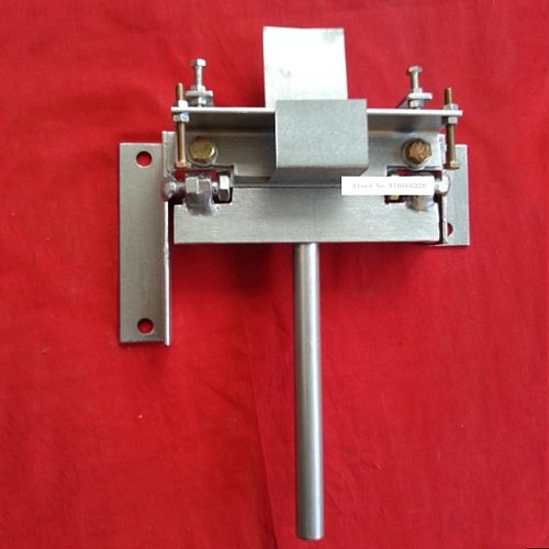 KK-110mm Manual Bending Machine Iron Copper Aluminum Plate Rolling Machine Household Small Metal Sheet Bending Machine 0-110mm