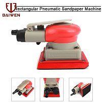 75x100mm Sheet Sander Pneumatic Air Sander Polisher Tool Polishing Random Orbital Polisher Machine Grinder Pro Pneumatic tool