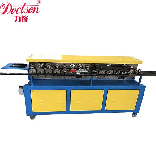 Good and enhanced air duct flange roll forming machine for HVAC