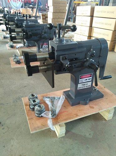 TB-12 metal plates sheet-forming rotary machine blank pressing machinery hand tools