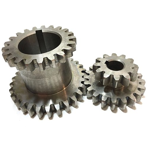 2Pcs/Set Cj0618 Teeth T29Xt21 T20Xt12 Dual Dears Metal Lathe Gear Duplicate Gear Double Gear
