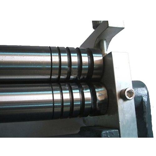 HR-320 small desktop manual roll machine steel plate, steel rod roll processing metal plate bending round machine