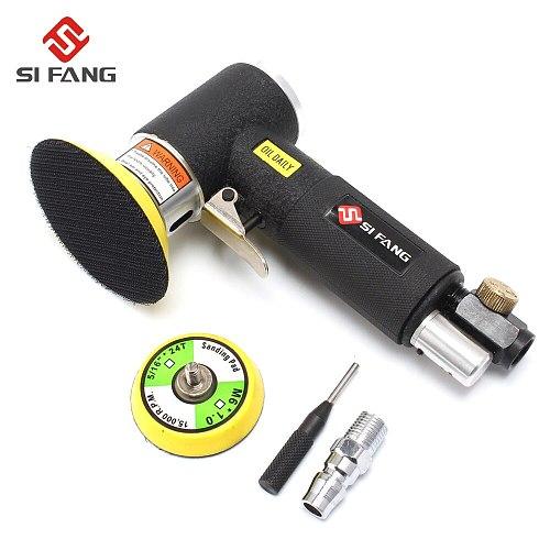 50mm 75mm Random Orbital Air Sander Pneumatic Mini Air Tools Buffer Dual Action Orbital Polisher for Car