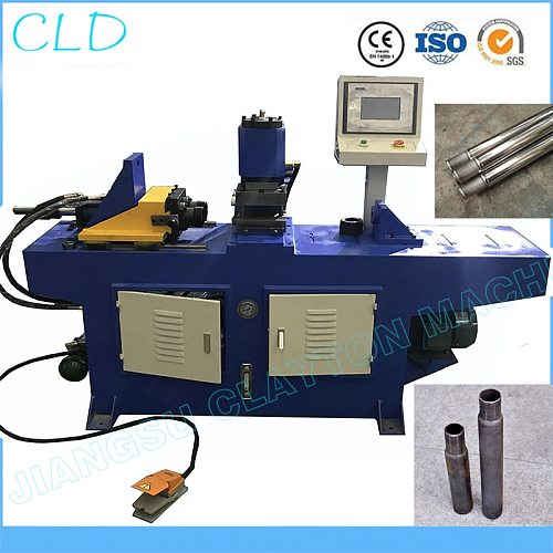 pipe shrinking machine Stainless steel / copper / aluminum / iron tube expander pipe tube end forming machine