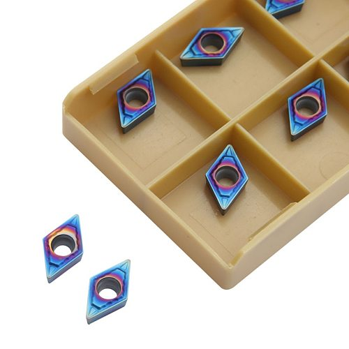 DCMT070204 SP20 carbide inserts DCMT 070204 Internal Turning tool Lathe Tools cutter CNC tool