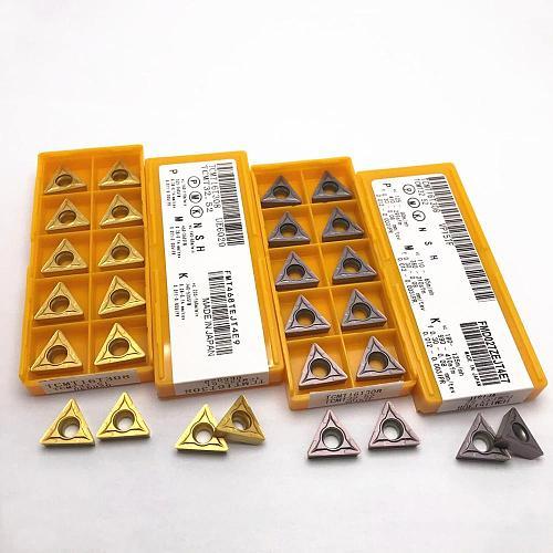 TCMT16T304 TCMT16T308 Carbide Blades External Turning Tool Turning Blade CNC Machine Tool Metal Lathe Tool High Quality TCMT