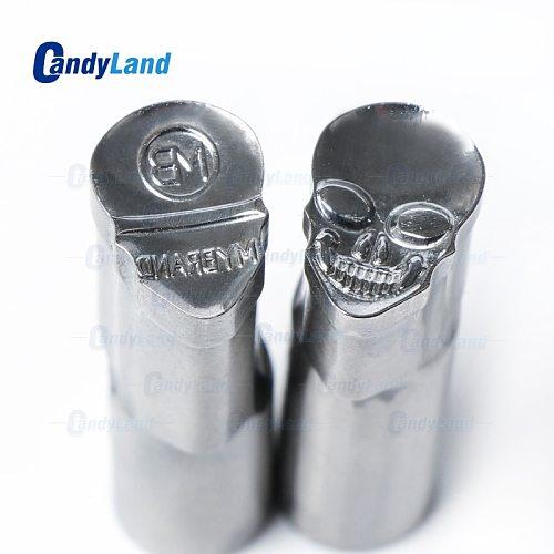 CandyLand Tablet Die Powder Pill Press Die Candy Punch Die Set Skull MB Custom Logo Punch Die Cast Pill Press For Tablet Machine
