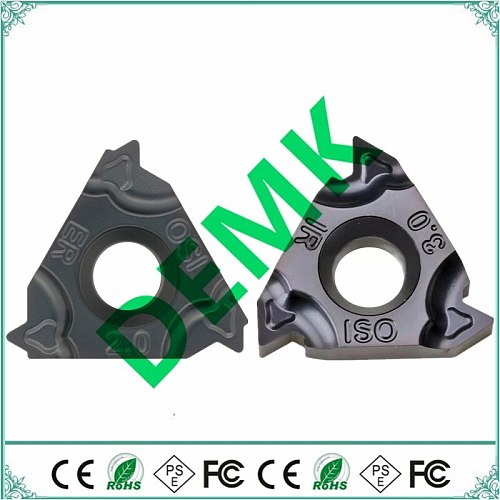 16ER 16IR AG60 AG55 1.0 1.5 2.0 3.0 high quality thread cutting For steel,stainless steel carbide insert Mechanical lathe lathe