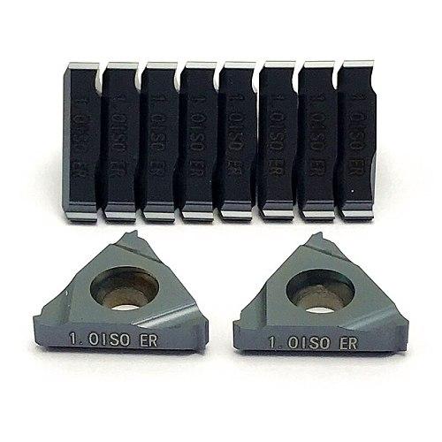 16ER 16IR  ISO 1.0 1.25 2.0 2.5 3.0 3.5 Cutting tool Carbide Inserts Thread Turning Tool CNC metal lathe tools turning insert
