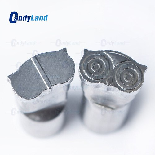 CandyLand Owl Logo Tablet Press Pill Maker Tools Hard Bearing Steel Material  tdp5 & tdp1.5 Candy Milk  Pill Punch Press Die