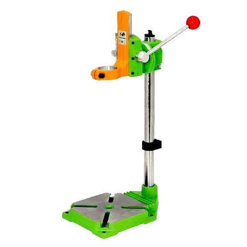 Electric Power Drill Press Workbench Clamp Drilling Collet Stand Rack Table for Bench  Drills 90° Rotating Fixed Frame Iron Base