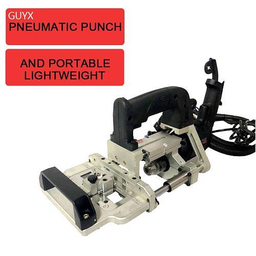 3 in 1 Portable Panel Furniture Pneumatic Side Hole Drill Punch Machine Pneumatic Side Hole Drill Punch Machine