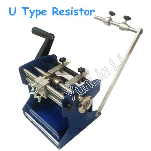 U Type Resistor Axial Lead Bend Cut & Form Machine Resistance Forming Machine/U Type Resistance Molding Machine Bending Device