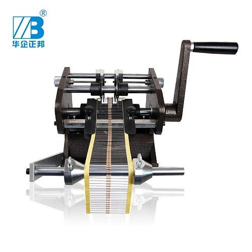 Manual U type bulk & taped resistance Resistor cutting forming machine cutter / U type belt type forming Machine