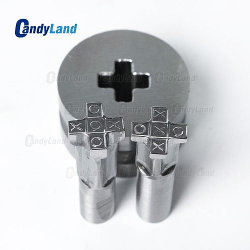 CandyLand X O X Milk 3D Tablet Die/Pill Press Mold Candy Punching Die Custom Logo Calcium Tablet Punch Die For TDP 0 Machine