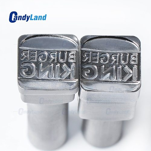 CandyLand 3d Tablet Die  Pill Press Mold Candy Punching Die Custom Logo Burger King Calcium Tablet Punch Die For TDP 0 Machine