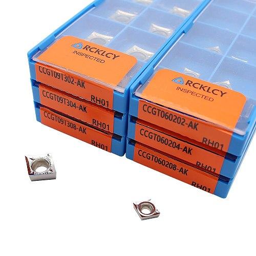 CCGT060204 RH01 CCGT09T302 09T304 09T308 CCGT120402-AK RH01 CCGT 120404 120408 100% original Insert CNC Carbide Aluminum Blade