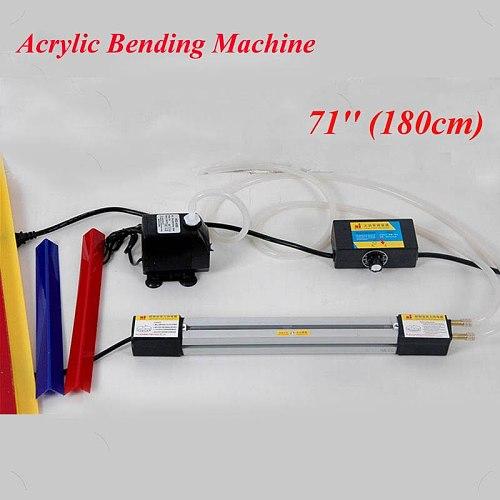 180cm 71 Inch Acrylic Bending Machine Plexiglass PVC Plastic Board Bending Device Advertising Signs and Light Box