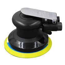 Self-vacuuming Pneumatic Sander Machine with 1m Air Tube and 6-hole Matte Surface Polishing Sanding Pad Car Repair Power Tools