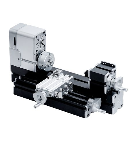 36W 20000rpm Mini Metal Lathe Didactical Miniature Modelmaking Machine for  Creative Hobbyist&Maker