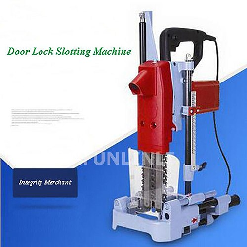Slot Machine Wooden Door Slotting Machine Square Hole Door Lock Installation Manufacturing Wooden House Woodworking Machine