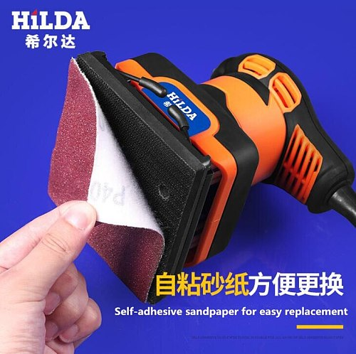 240W Mini Electric Sander Woodworking For Polishing Metal rust Wall renovation Used for plate grinding/Brick Cleaning