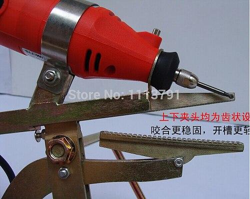 Light word folding metal edging slotting machine, slotting machine, manual folding metal slitting machine word
