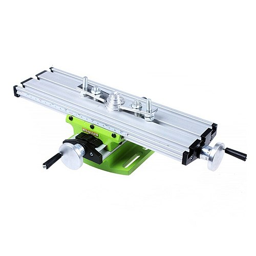Multi-functional cross table high precision sliding table mini-drilling and milling machine electric drill bracket DIY