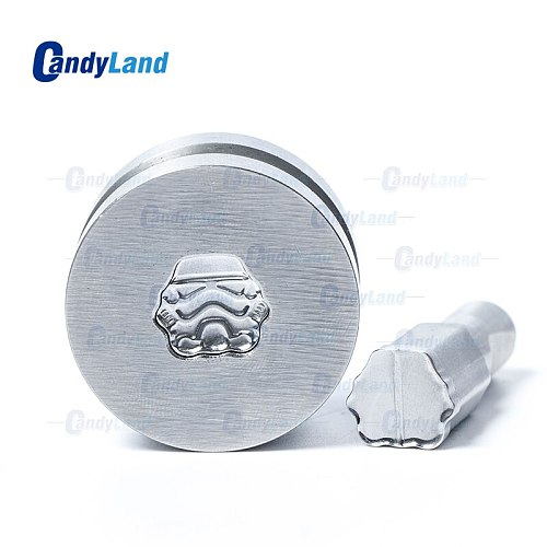 CandyLand Robot Logo Tablet Die Pill Press Mold Candy Punching Die Custom Logo Calcium Tablet Punch Die For TDP 0 Machine