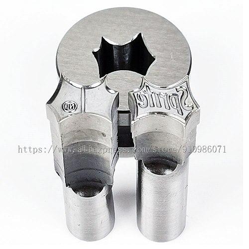 Sprt NL design Tablet Die 3D Punch Press Mold, Candy Punching Die,Calcium Tablet Punch Die 12.6*11.2MM,in stock