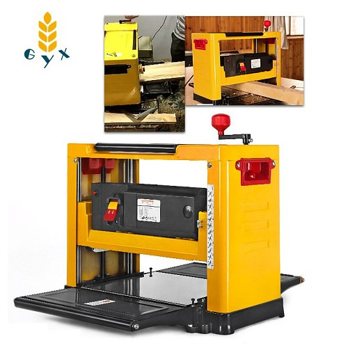 13 Inch Multifunctional Woodworking Planer Machine Small Household High Power Planing Machine 220V Table Bed Sheet Planer Tools