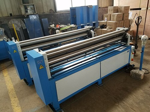 2070*2.5mm electric metal sheet slip roll machine rolling machinery tools