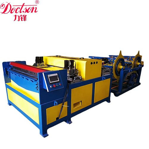HVAC duct former, forming machine , air ducting auto line 3, Square Ventilation Pipeline Production Line
