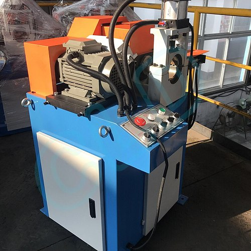 Chamfering machine single head Three-sided chamfer without burrs pipe chamfer iron bar stainless steel pipe tube charmfer