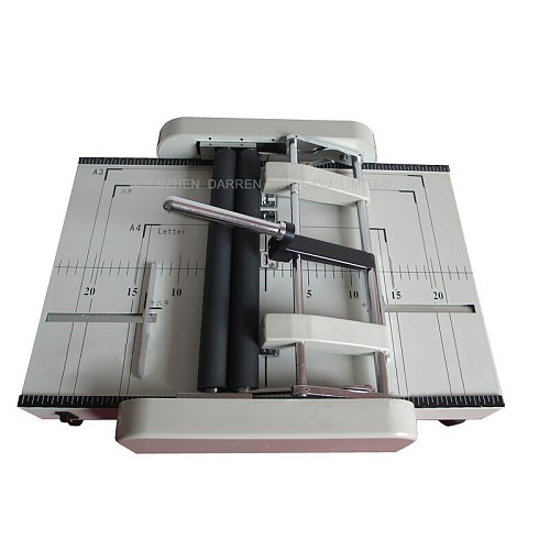Electric Folder Automatic A3 Paper Stapler PAPER Folding Machine