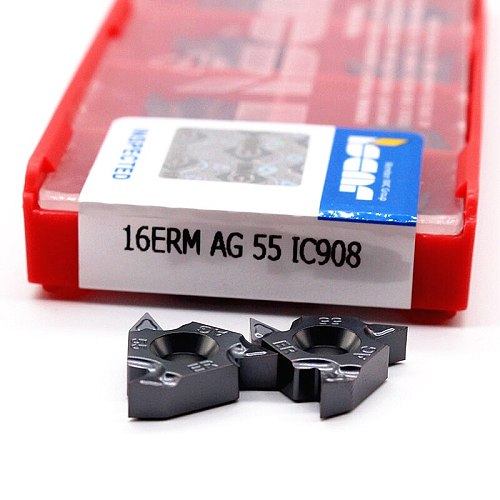 16ER AG60 11IR A60 16IR AG60 A60 G60 22IR 22ER N60 60 angle Thread turning tool Tungsten Carbide Insert of cnc lathe cutter