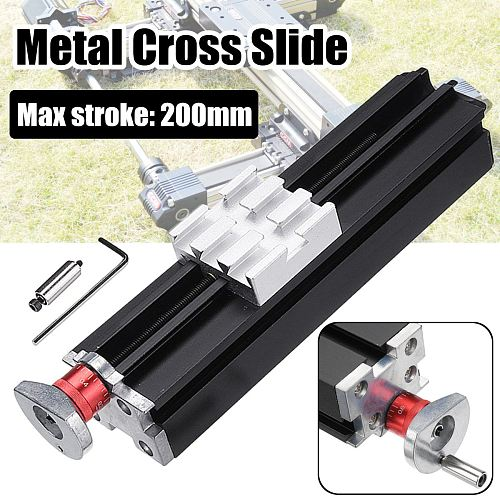 200mm Metal Cross Slide Block Z010M For Lathe Feeding Relieving Axis X/Y/Z
