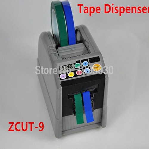 1PC ZCUT-9 Automatic Cutter Cutting Machine Tape Dispenser Micro-computer Electronic 110V