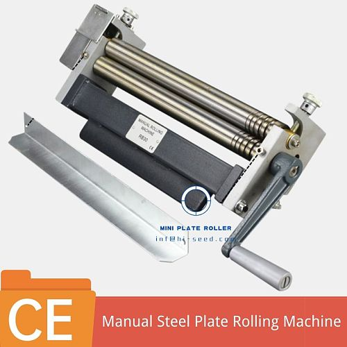 mini manual stainless steel and wire coil Bead Roller machine Kit