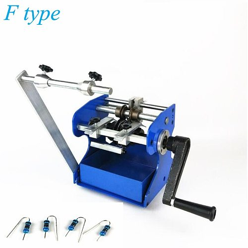 F Type Resistance Molding Machine F Type Resistor Bending Machine Axial Lead Bender Resistance Forming Machine