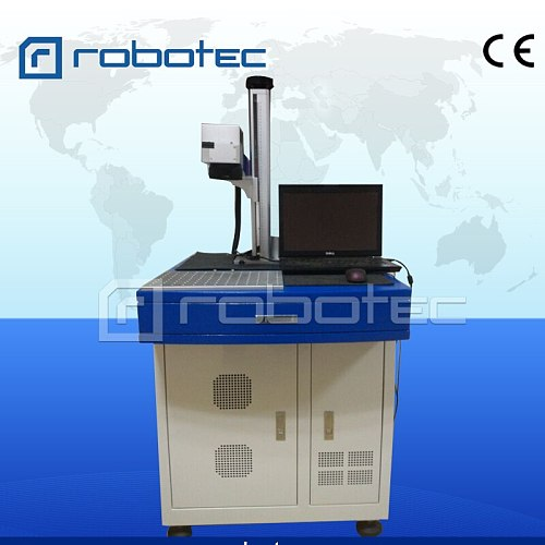 Mini Fiber laser marking/printing machine on steel/paper/acrylic/wood/glass/plastic/aluminum letter image for advertising