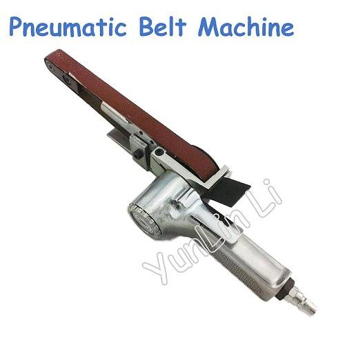 520*20mm Abrasive Belt Polisher Pneumatic Sand Belt Grinding Machine Pneumatic Grinder Air Belt Sander