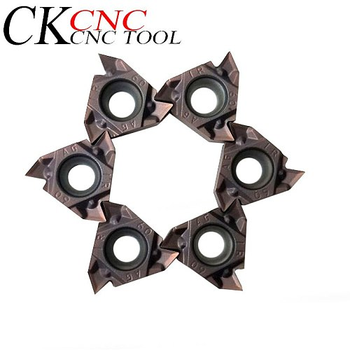 MMT16ER AG60 VP15TF MMT16IR AG60 VP15TF carbide inserts Thread cutting lathe tools milling tool  For processing stainless steel
