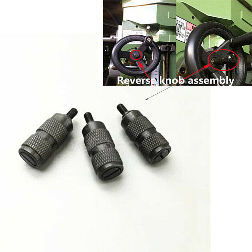3PCS Milling Machine Parts Feed Reverse Knob Assembly Fit Bridgeport Mill New CNC Milling Machine