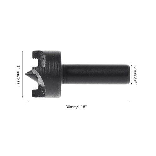 2019 New Plum Blossom Thimble Drill Bit Mini Lathe Machine Woodworking DIY Tool Durable 6mm